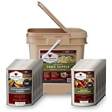Wise Food Company 56 Serving Breakfast and Entree Grab and Go Food Kit