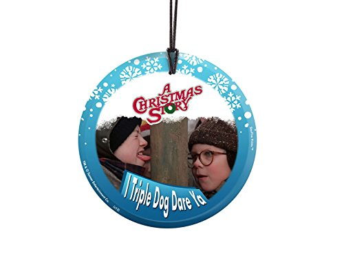 Trend Setters Christmas Story (Triple Dog Dare) Starfire Prints Hanging Glass