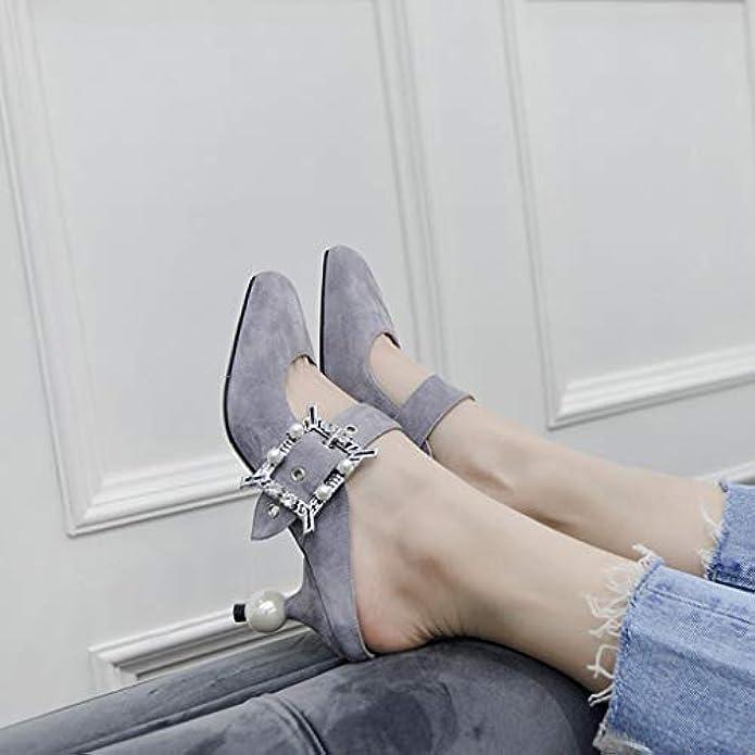 Scarpe E Borse Da Donna Sandali Donna In Pelle Europea Americana Con I Tacchi Alti Punta Di Strass Cinturino Moda Baotou Sexy