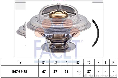 Facet - 7.8256S - Thermostats (Audi Cooling 80)