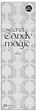 シークレットキャンディーマジック candymagic 1day ワンデー 【1箱20枚入】 NO.5ブラック -4.75