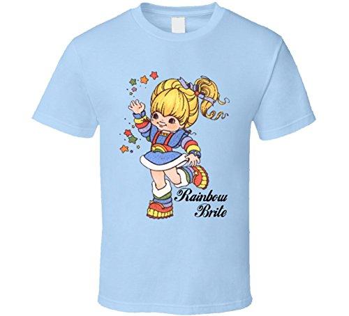 rainbow-brite-t-shirt-m-light-blue