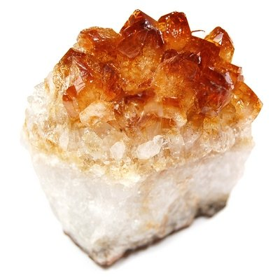 "Citrine Druze Cluster(6"" - 7"")""A"" -1pc."