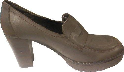 CHILLANY Pumps - Zapatos de vestir de cuero para mujer marrón - marrón oscuro