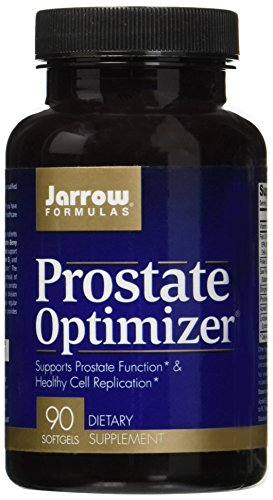 Jarrow Formulas Prostate Optimizer, Supports Prostate Function & Healthy Cell Replication, 90 Softgels (The Best Prostate Formula)