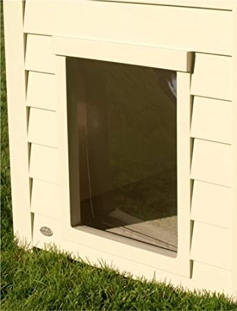 Amazon.com : Dog House Vinyl Flap Door - Large : Dog Doors For ...