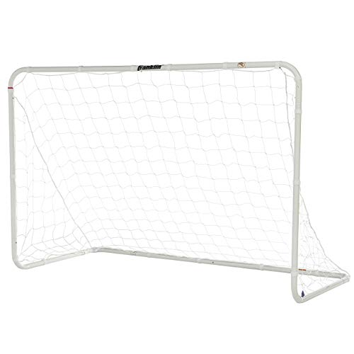 (Franklin Sports Competition Steel Soccer Goal, 6 x 4 Foot, Silver)