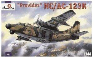 Provider Aircraft Usaf - NC/AC-123K 'Provider' USAF aircraft (Chase Aircraft Company) 1/144 Amodel 1407