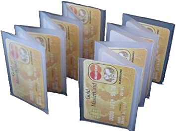 WALLET INSERT SET OF2 PREMIUM QUALITY 12 PAGES CARD PICTURE HOLDER FREE SHIPPING