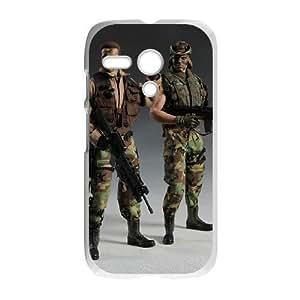 Motorola Moto G Phone Cases White Predator EXS564225
