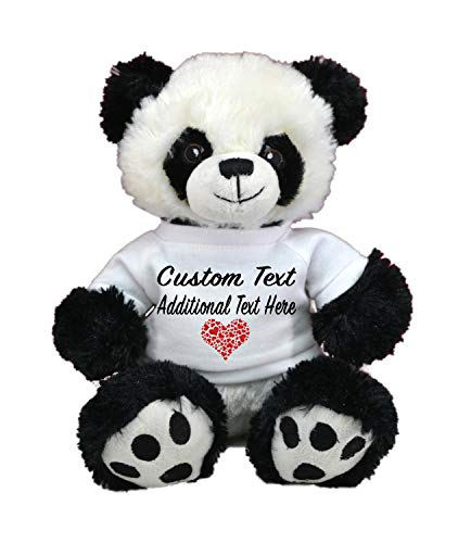 LOVE BEAR Limited Edition! Customized Plush Toys DIY Create Your Own Best Romantic Gift for Lovers St Valentine's Day by CustomizedbyBilgin (Panda -