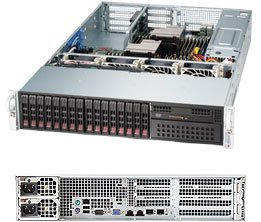 Supermicro SuperServer 2027R-72RFTP+ Barebone System - 2U Rack-mountable - Intel C602J Chipset - Socket R LGA-2011 - 2 x SYS-2027R-72RFTP+