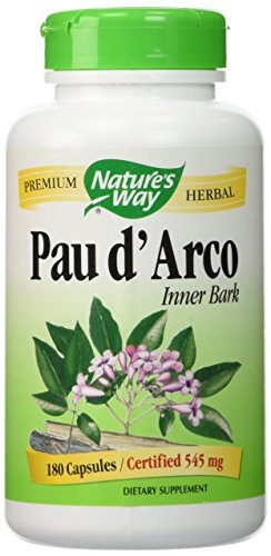 Nature's Way - Pau D'Arco Inner Bark, 545 mg, 180 capsules