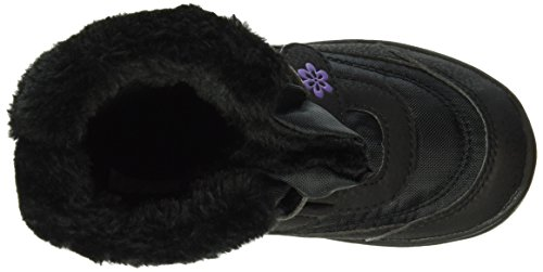 Mary V Neige Lico lila schwarz Noir Fille De Bottes C6dqwxqOz