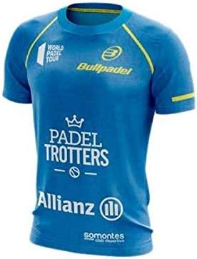 Bullpadel Camiseta TAURI Paquito Navarro Azul: Amazon.es ...