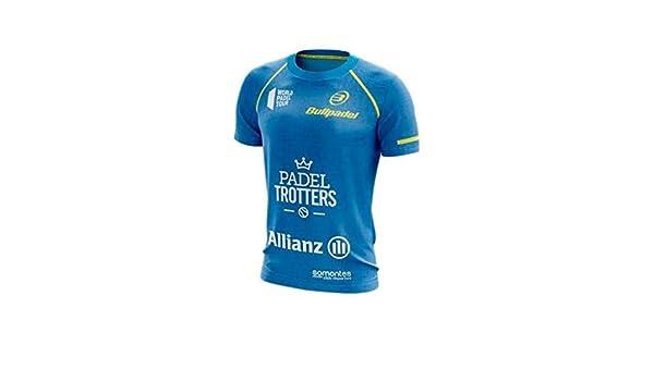 Bullpadel Camiseta TAURI Paquito Navarro Azul: Amazon.es: Deportes ...