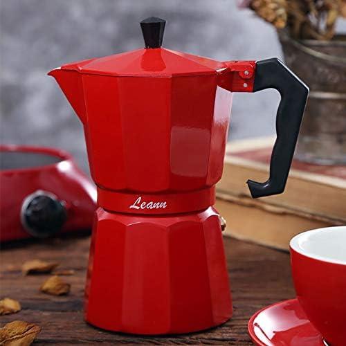 HNTLY Cafetera De Aluminio Mocha Café Espresso Cafetera ...