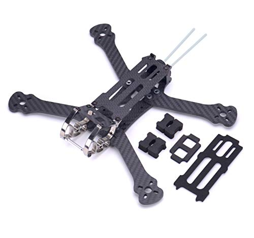 Readytosky 255mm FPV Racing Drone Frame 6 inch Carbon Fiber Quadcopter Frame with 4mm Arms