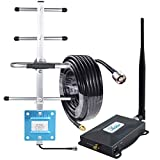 Verizon Signal Booster Connect 4G LTE Verizon Cell Phone Signal Booster Home 4G LTE Cell Phone Booster Repeater Amplifier Network Extender 700mhz Band 13 65dB,Boosts 4G Data & Calls-Whip+Yagi