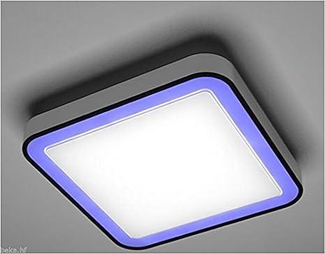 LED RGB Deckenleuchte dimmbar Bluetooth warmweiß SMART Ios Android Wohnzimmer [Energieklasse A++] kalb Material für Möbel