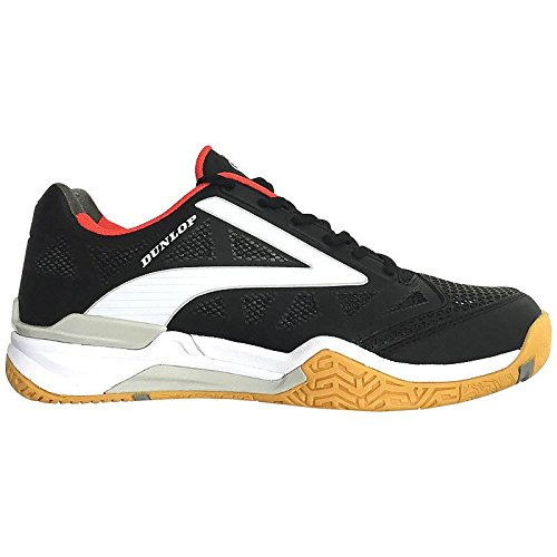 Dunlop Men's Flash Ultimate Squash Shoe Black/White