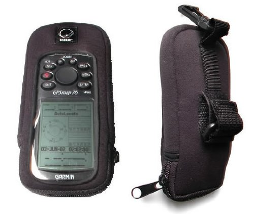 Garmin Gpsmap 76 Accessories (Garmin compatible GPSMap 72, 76, 76S, 76C, 76CS, 96 Neoprene GPS Carrying Case)