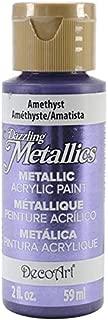 product image for DecoArt DA321-3 Dazzling Metallics Paint, 2-Ounce, Amethyst