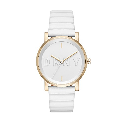 DKNY Women's NY2632 Soho White Silicone Watch
