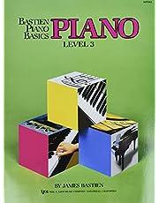 Bastien Piano Basics: Level Three