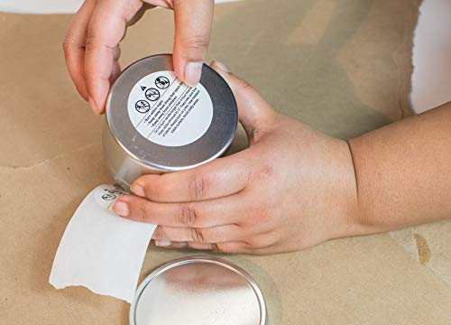 10 lb. Soy Wax, Wicks, Glue Dots and Burning Instructions by Candlewic (Image #7)