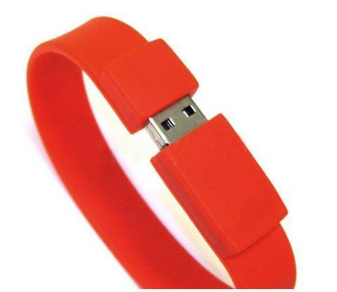 (Bracelet Wristband High Speed 2gb USB Flash Drive Silicone)