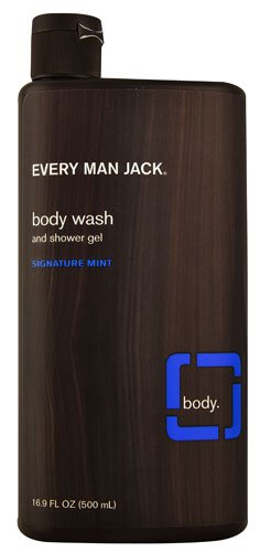 Every Man Jack Body Wash and Shower Gel Signature Mint -- 16.9 fl oz - 2pc (Mint Gel Signature)