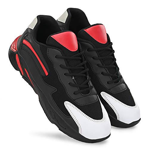 BERKINS Men's Sports Latest Stylish Casual Sneakers/Lace up Lightweight Shoes for Running/Walking & Gym Shoes for Men's