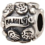 Love Family Charm Bead - .925 Sterling Silver - Fits Pandora Charm Bracelet sale off 2017