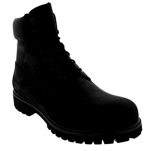 (Timberland Men's Basic Roll Top TecTuff Scuff Proof Leather Boots (7.5, Black))