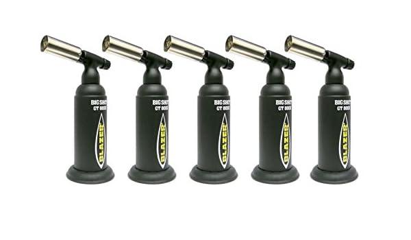 Blazer GT-8000 Big Shot Refillable Butane Torch 5 Torches