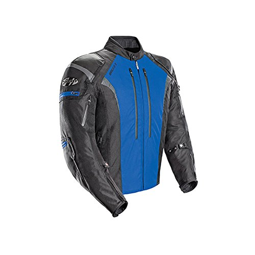 Joe Rocket Atomic Men's 5.0 Textile Motorcycle Jacket (Blue, X-Large)