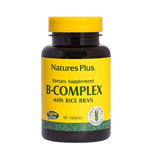 Cheap Natures Plus B Complex with Rice Bran – 90 Vegetarian Tablets – Yeast Free B Vitamin Supplement, Energy & Brain Booster, Mood Enhancer, Anxiety Reducer, Stress Reliever – Gluten Free – 90 Servings