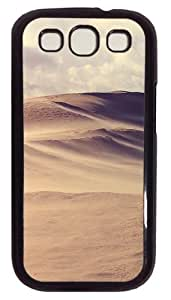 Windy Desert PC Case Cover For Samsung Galaxy S3 SIII I9300 Black