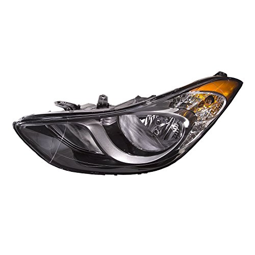 HEADLIGHTSDEPOT Compatible with Hyundai Elantra Headlight OE Style Replacement Headlight Left Driver Side ()