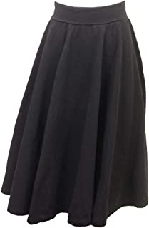 product image for Hard Tail Forever Knee Length Princess Midi Skirt, Foldover Waist Style W-549