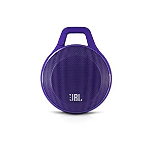 JBL Clip Portable Bluetooth Speaker With Mic (Purple)