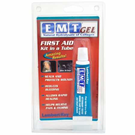 - Prozyme EMT First Aid Gel (1 oz)