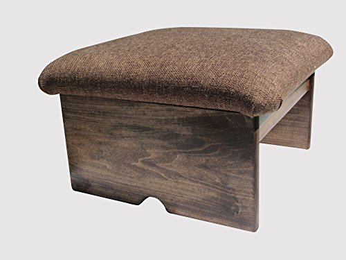 Padded Foot Stool, Doggie Step, Cocoa Brown, 10