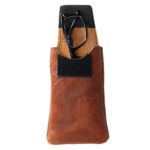 Boston Leather Textured Bison Leather Eyeglass Case, Tucson by Boston Leather (Image #3)