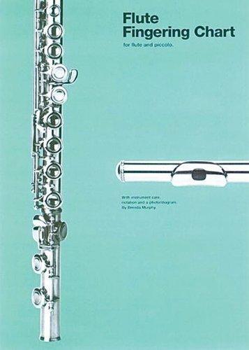 Flute Fingering Chart (Amsco Fingering Charts) by Murphy. Brenda ( 1984 ) Paperback