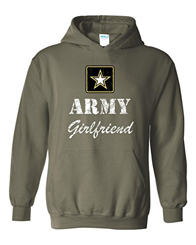 w Star Army Strong Matching Couples w Boyfriend Military Unisex Hoodies Sweater (Army Star Sweatshirt)