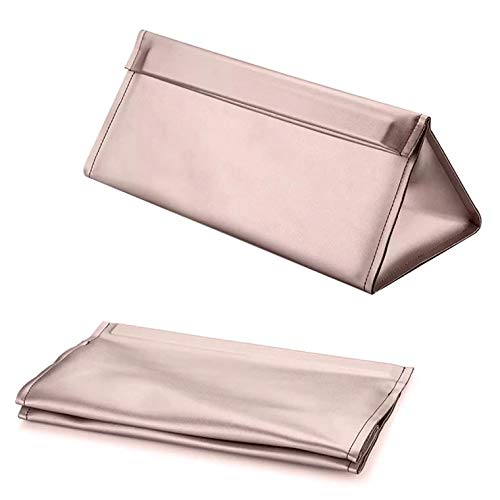 Travel Portable Storage bag for Dyson Supersonic Hair Dryer, Magnetic Flip PU Leather Moistureproof Anti-scratch Dustproof Shockproof Protection Organizer Travel Bag (Pink/Bag)