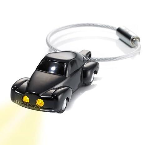 Amazon.com: Troika Luz Rider Llavero con luz LED (kr1053bk ...