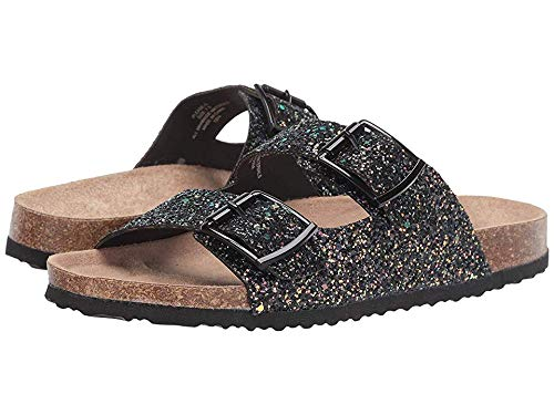 (Madden Girl Women's Pleeas-G Black Multi 7 M US)